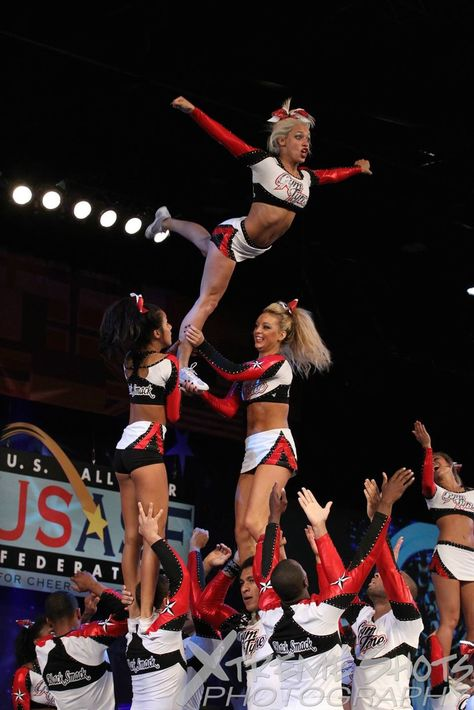 Backspot carries her up posts assist hit the top & waterfall