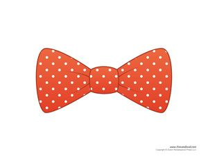 Matthew 22:1 14; Parable Of The Wedding Feast Bow Tie Template Printable In  6 Polka Dotted Colors; These Paper Bow Ties Are For Boys To Role Play U2026