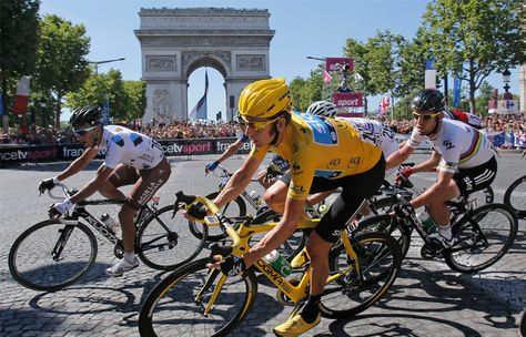 Do you know that Tour de France length was 2,428 km on 1903? http://bit.ly/1mVf7Ur -------- #DailyWebMag - Technology, Society, Culture, Sport, Fun and much more..
