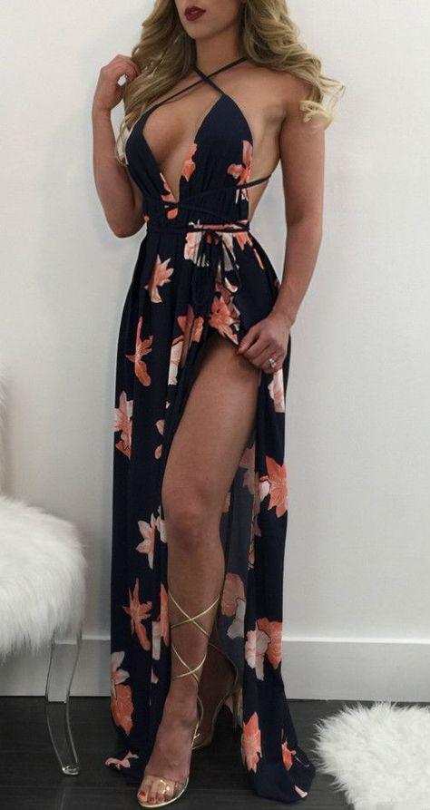 Women's Deep V Neck Backless High Split Maxi Prom Dress,Sexy Open Back Satin Long Evening Dresses,Off The Shoulder Prom Dresses