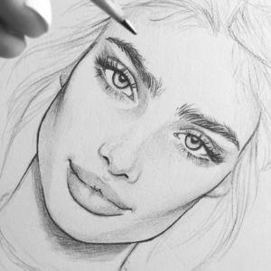 1001 Ideas Sobre Como Dibujar Una Cara Y Bonitos Dibujos Dibujos Dibujos A Lapiz Faciles Dibujos Kawaii