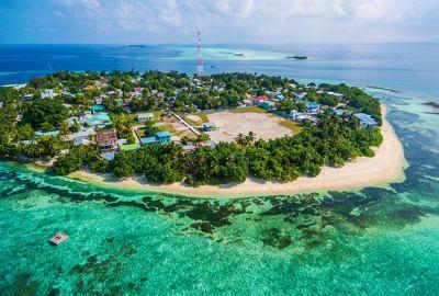 جزيرة راشدو في المالديف Outdoor Golf Courses Water