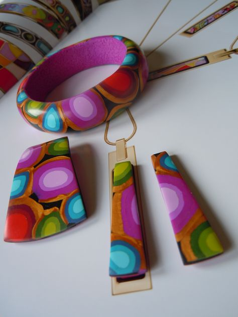 Polymer Clay Jewelry (unique, handmade)