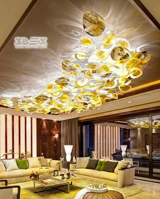 3d False Ceiling Designs To Paint The Ceiling With Solid With A
