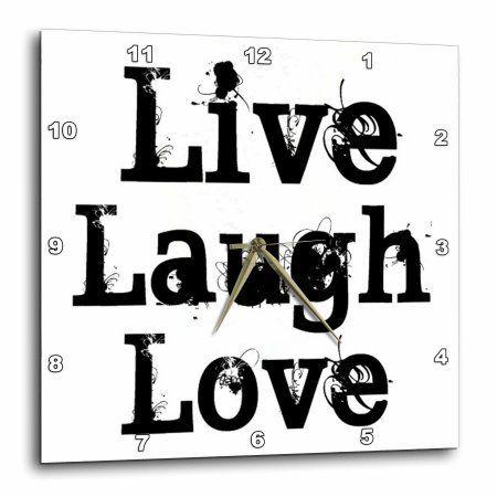 Airbrush Schablone Spruch Text live laugh love 739