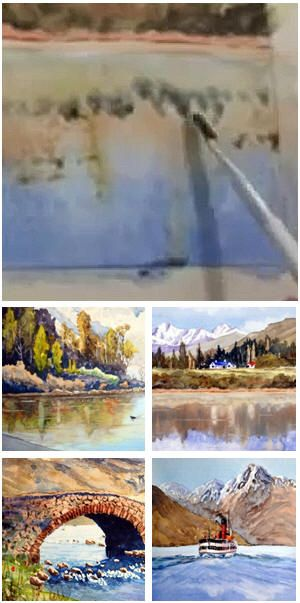 Five Free Watercolor Painting Lessons Waterscapes And