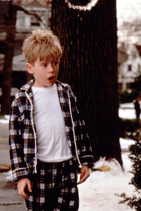 "My son's holiday season always starts with the movie ""Home Alone."" Macaulay Culkin (1990)."