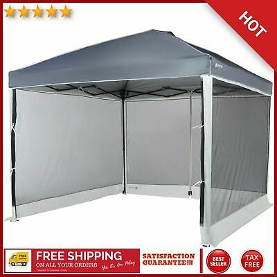 Advertisement Ebay Screen Walls For 10 X 10 Straight Leg Canopy With 2 Doors Camping Sun Shade Tent Shade Tent Beach Shade Tent Sun Shade Tent
