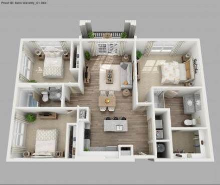 28 New Ideas Apartment Floor Plan 2 Bedroom Apartment Floor Plans Bedroom Floor Plans House Layout Plans