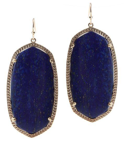 Danielle Oval Stone Earrings I NEED THESEEEEEEEEEEEEEEEEEE