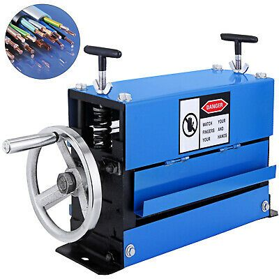 Motorized Cable Stripper Powered Desktop Electric Copper Wire Stripping Machine