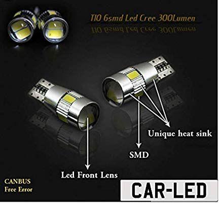VW CADDY SIDELIGHT XENON WHITE LED UPGRADE ERROR FREE LIGHT BULBS