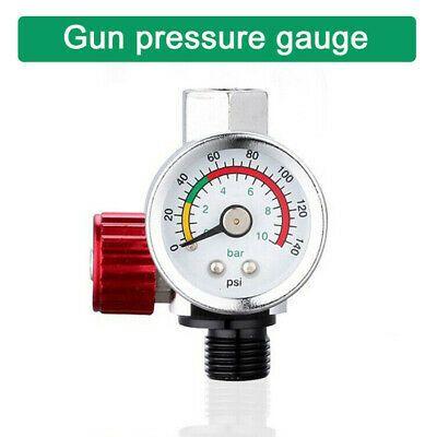 Air Pressure Regulator Gauge Spray Pressure Tool 1 4 Relief Valve Gauges Tool In 2020 Relief Valve Air Pressure Gauges