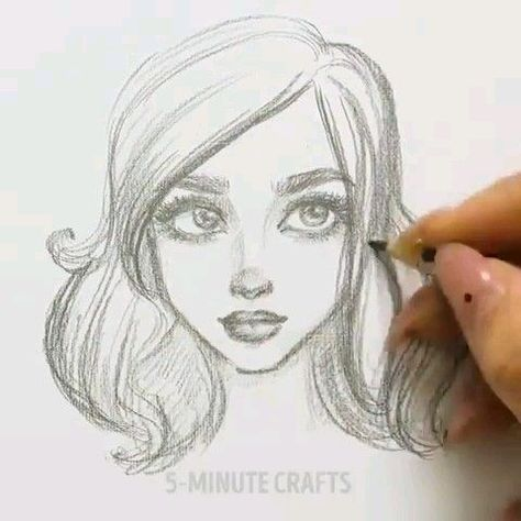 How to Draw a Face from the Side Profile View (Female / Girl / Woman) Easy Step by Step Drawing Tutorial for Beginners