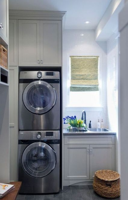 36 Trendy Ideas Bathroom Window Over Sink Cabinets Bathroom Mud Room Laundry Room Combo Grey Laundry Rooms Laundry Room Design