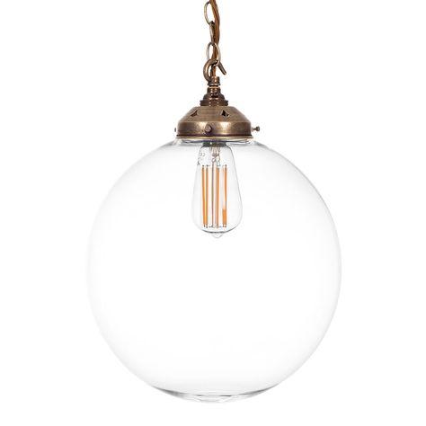 Richmond Pendant Light In Antiqued Brass Pendant Light Glass Pendant Ceiling Light