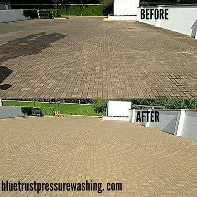 Blue Trust Pressure Washing Has Been Helping Residential Customers Power Wash And Clean A Variety Of Surfa Pressure Washing Companies Pressure Washing Pressure