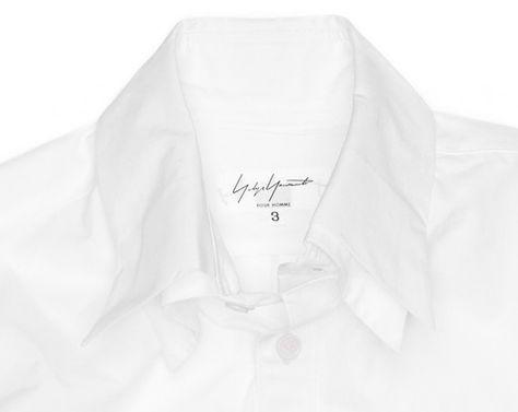 Yohji Yamamoto Double Collar Shirt   Photo