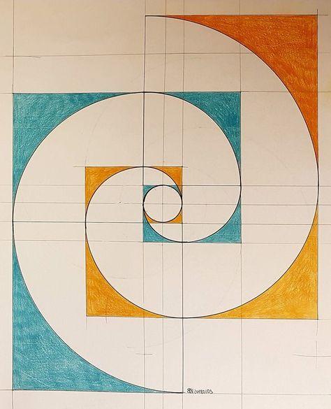 Fibonacci Art -  - #Art #Fibonacci