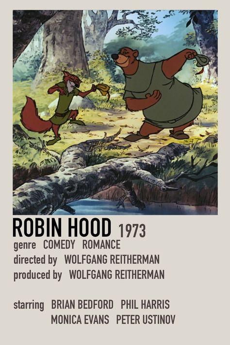 Minimalist movie Polaroid Robin Hood