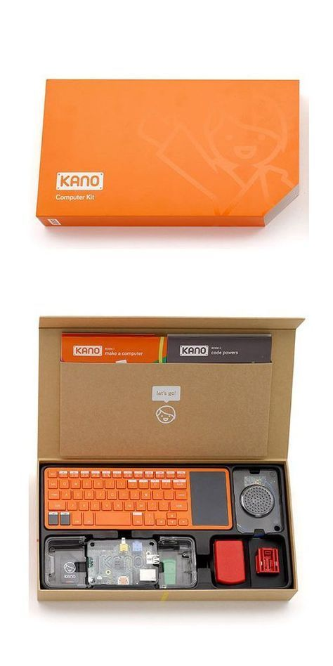Guess I shoulda boughtt the kids this and maybe 1 would be a computer nerd. The Kano computer enables users of all ages assemble a computer from scratch, and learn basic coding skills.