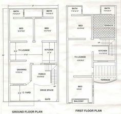 Pin By Ravi On House Plans Model House Plan House Map 10 Marla House Plan