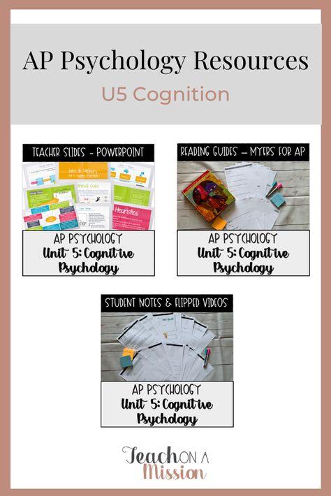 Get All The Cognitive Psychology Activities And Resources You Need