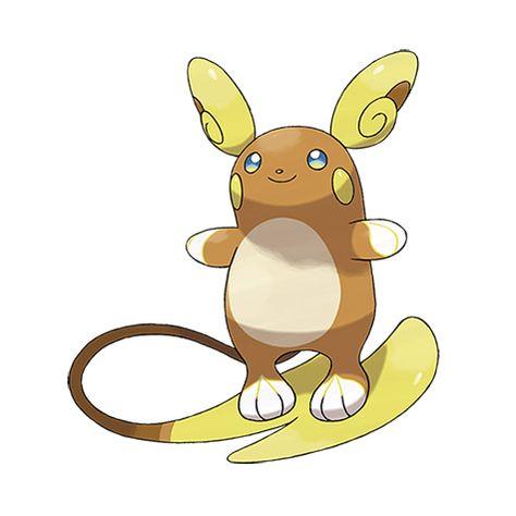 Alola Raichu 6 Pokemons Personagens De Anime Pokemon Desenho