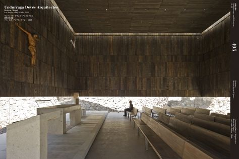 Undurraga Devés Arquitectos Retreat Chapel Los Andes Valley, Chile