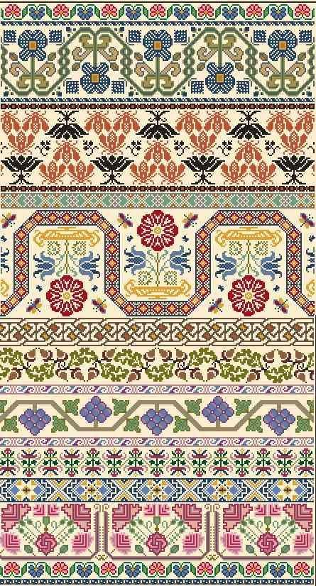 Fair Isle Scarf Pattern   Knittting/Crochet   Pinterest   Scarf ...
