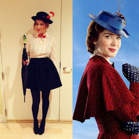 Disney Costumes Disney Halloween Costumes mary poppins - If you're a Disney addict, these 23 less-common costume ideas are sure to spark your interest.