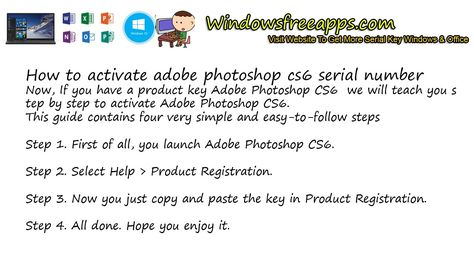 adobe photoshop cs6 extended serial number