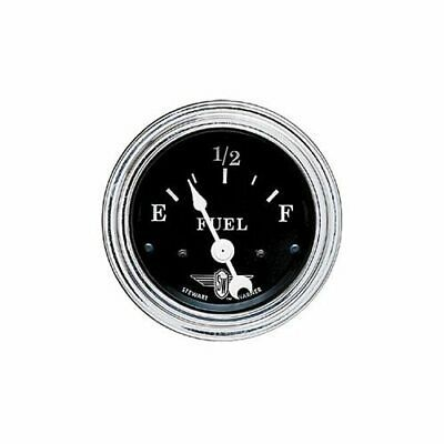 Details About Stewart Warner Black Wings Electrical Fuel Gauge 2 1