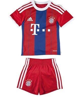 pretty nice fd8ac 4ca55 Bayern Munich Home Football Shirts 14/15 - Kids Football ...