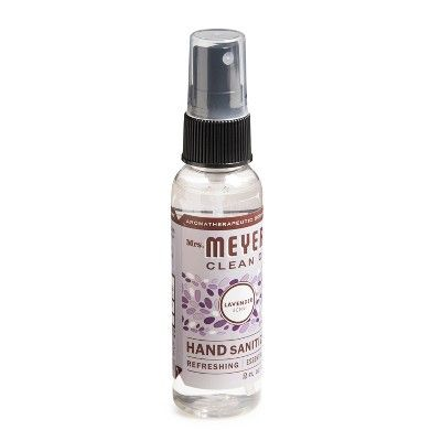 Mrs Meyer S Clean Day Lavender Scent Hand Sanitizer 2oz