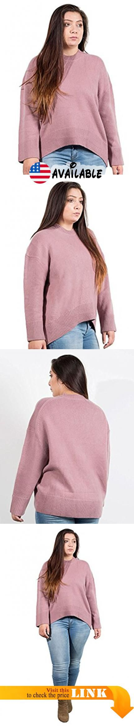 B076JS653C : NAKEDCASHMERE Women's Holliday Crew Sweater XL