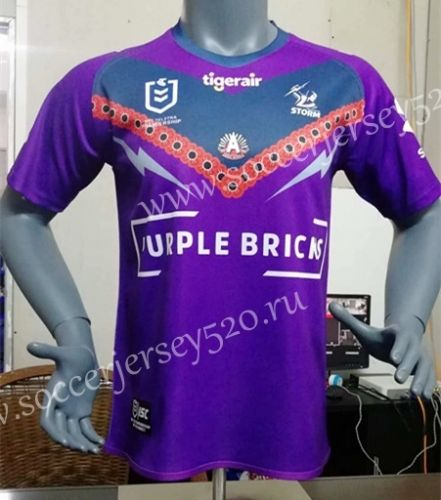 2019 20 Melbourne Purple Rugby Shirt Rugby Shirt Rugby Jersey Rugby