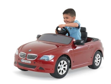 Bmw Car For Kids With Battery Power Rechargeable Car Games With Real