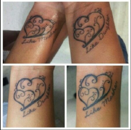 Mother And Daughter Symbol Tattoos Choice Image Free Symbol And