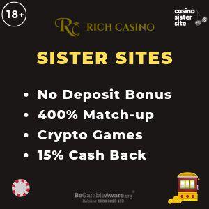 Casinos Like Rich Casino No Deposit Bonus Alternative Link Casino Best Casino Games Bingo Casino