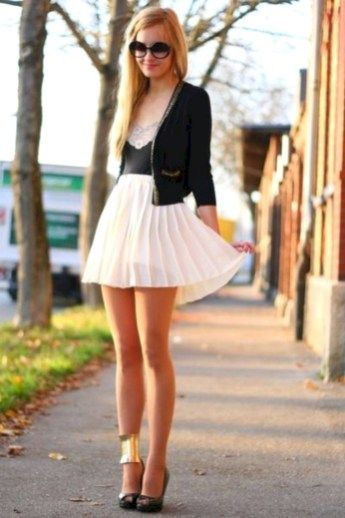 a7e76c04b0ea5 it's a cocktail party: 21 Cute And Popular Girly Outfits Ideas Suitable For  Every Woman