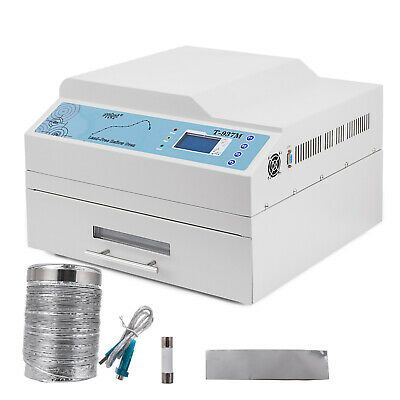 T-937M SMD BGA Infrared Heater Automatic Lead-free Reflow Oven 3300W 350x400mm
