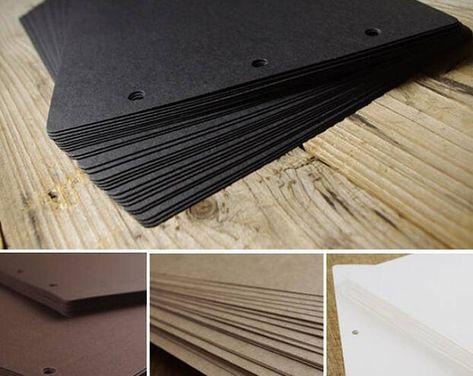 25 Sheets x Inside Pages For Ring Binder Photo Album /Kraft Scrapbook Album /Wedding Album /Wedding Guest Book TZ2068