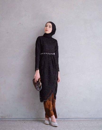 50 Kebaya Modern Hijab Elegan Praktis Dan Kekinian Pakaian Gaya Busana Pakaian Islami