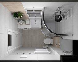 Lazienka 3m2 Z Pralka Szukaj W Google Round Mirror Bathroom Interior Home