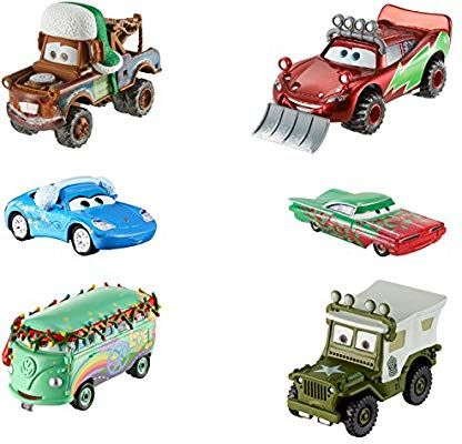 VOITURE DISNEY PIXAR CARS 3 lightning mcqueen ET SALLY 2 pack