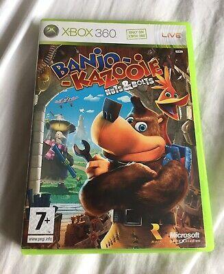 Banjo Kazooie Nuts Bolts Microsoft Xbox 360 2008 Gc