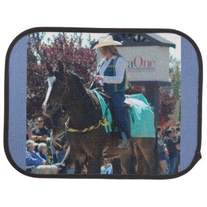 Bishop Mule Days Parade Of 2018 Car Floor Mat Zazzle Com Car Floor Mats Mule Days Horse Riding