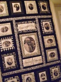 25 best Quilt ideas images on Pinterest | Memory quilts, Photo ... : memorial quilt ideas - Adamdwight.com