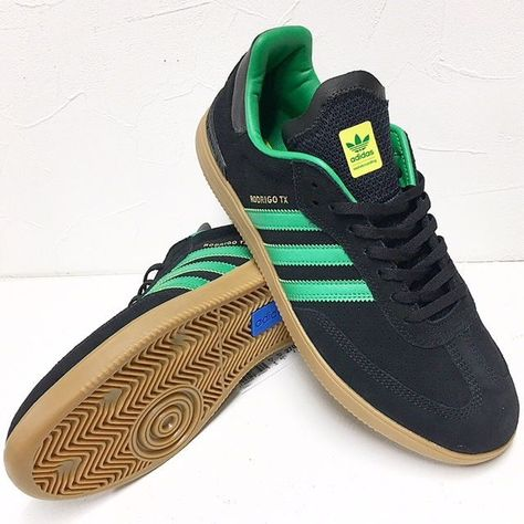 Adidas Samba ADV Rodrigo TX skateboarding shoes but a